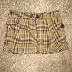 EUC Xhilaration Plaid Mini Skirt Women's 5 Target